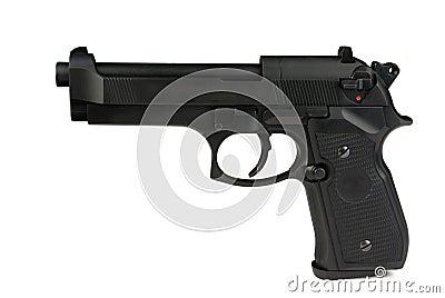 Gun turn left