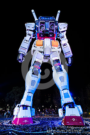 Gundam  Editorial Photography
