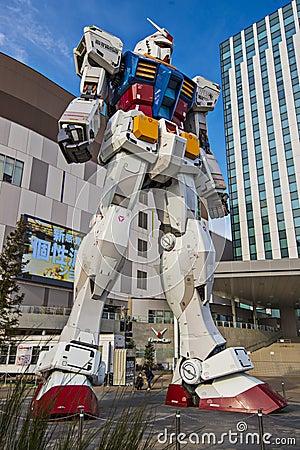 Gundam Suit Editorial Photo