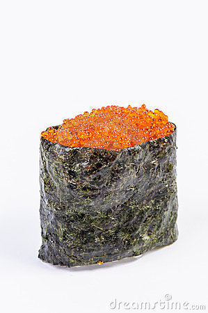 Gunkan Sushi with Fish Roe