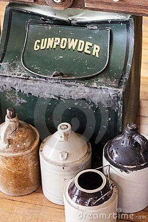 Gunpowder Container