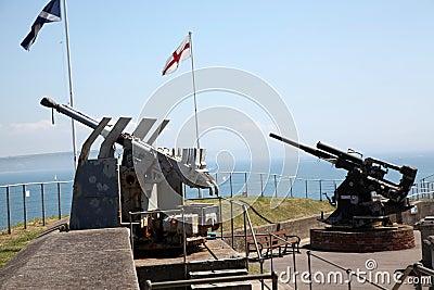 Guns at Fort Nothe