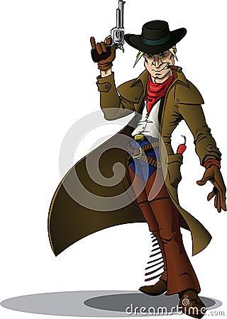 Gunslinger cowboy