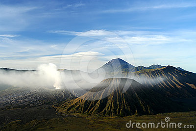 Gunung Bromo after sunrise