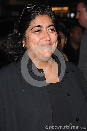 Gurinder Chadha,Queen Editorial Photo