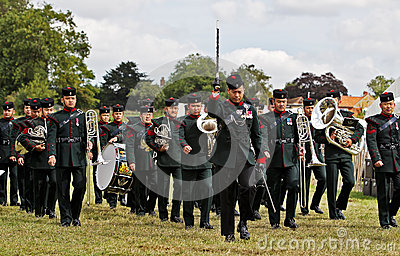 Gurkha Bandsmen Editorial Stock Photo
