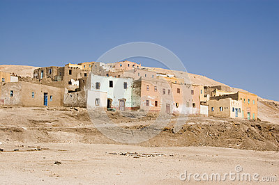 Gurna village, Luxor, Egypt