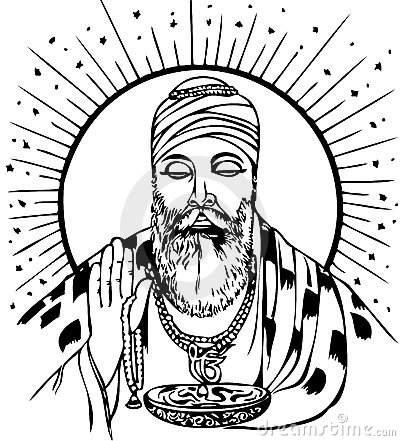 guru nanak royalty free stock photography image 21892937