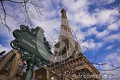 Gustave Eiffel avenue