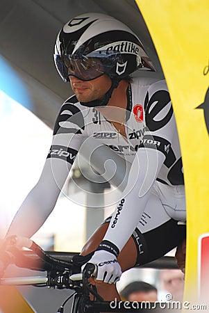 Gustov Volodymir - Tour de France 2009 Editorial Stock Photo