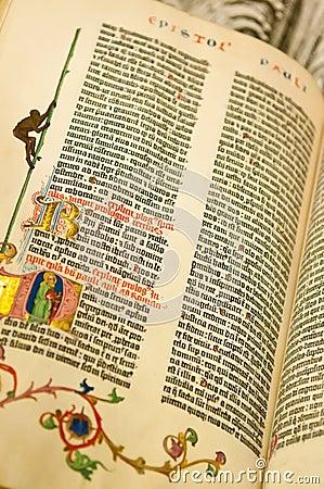 Gutenburg Bibel