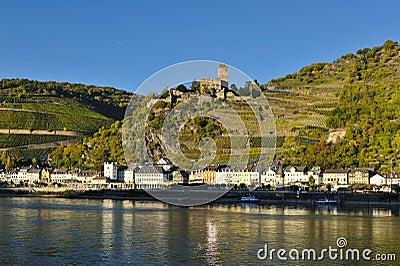 Gutenfels castle in Germany