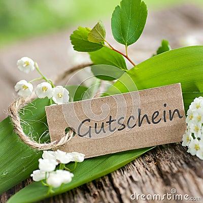 Gutschein - coupon