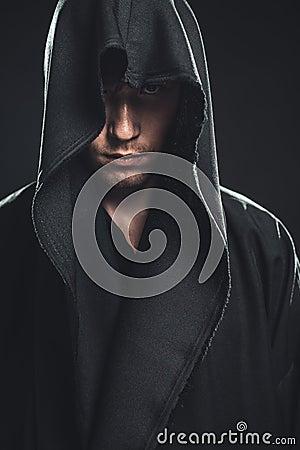 Guy in a black robe