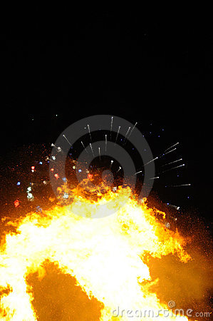 Guy Fawkes Night Royalty Free Stock Photography - Image: 16905447
