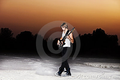 Guy with guitar