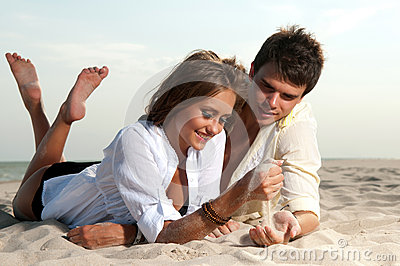 Guy and his girlfriend