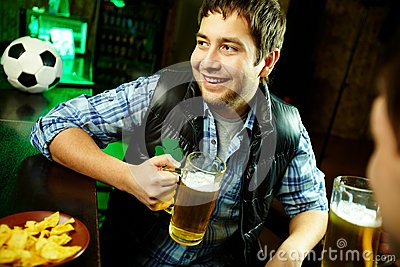 Guy in pub