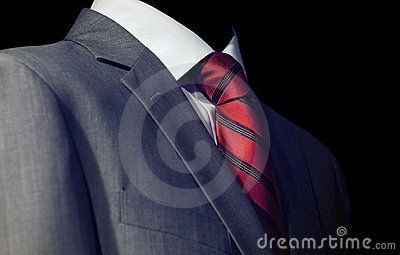 Guy in a red tie