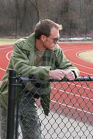 Guy at the track