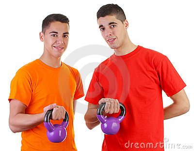 Guys with weights
