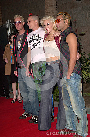 Gwen Stefani,No Doubt Editorial Stock Photo