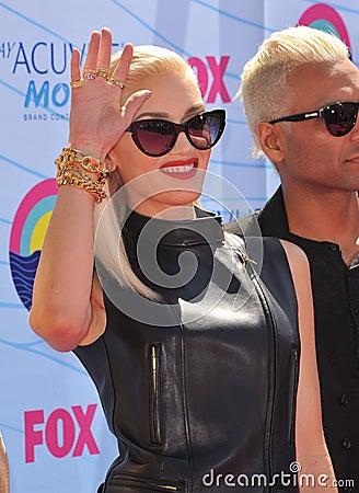 Gwen Stefani,No Doubt Editorial Image