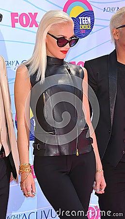Gwen Stefani,No Doubt Editorial Stock Image