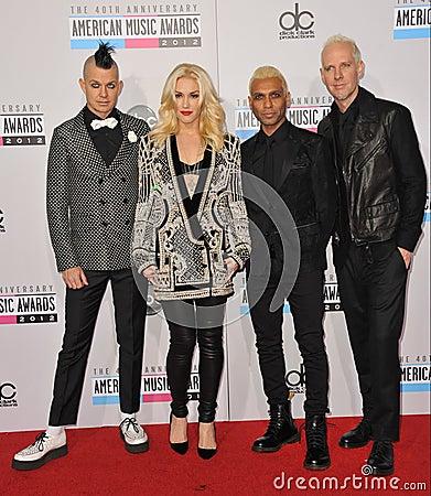 Ninguna duda, Gwen Stefani Foto de archivo editorial