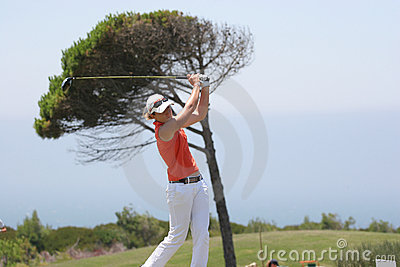 Gwladys Nocera, Losone 2007, Golf Ladies european Editorial Photo