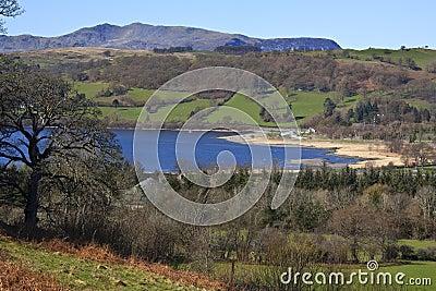 озеро вэльс gwynedd bala