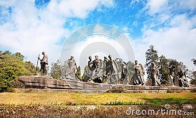 Gyarah murti statue