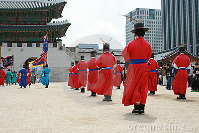 Gyeonbokgung, National Palace Museum, South Korea Editorial Stock Image