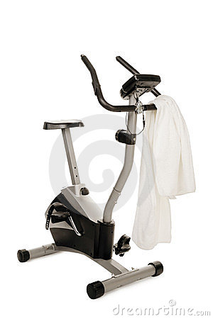 Gym bicycle machine