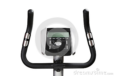 Gym bicycle machine monitor