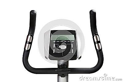 Gym bicycle machine monitor