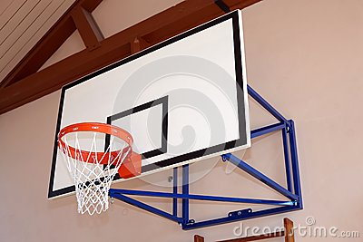 Gym building with basketball hoop stock images image for How much to build a basketball gym