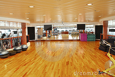 Gym dance studio