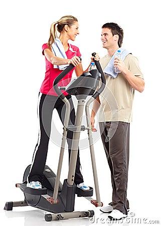Free Gym & Fitness Royalty Free Stock Photo - 12805255