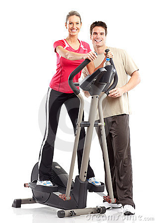 Free Gym & Fitness Royalty Free Stock Photography - 12993387