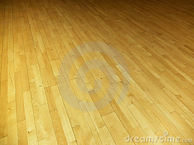 Gym floor background