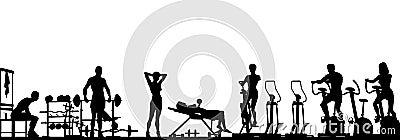 Gym foreground
