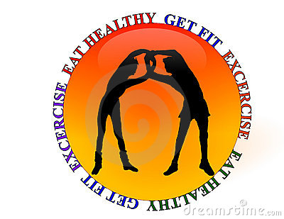 Gym Health Club Fitness Logo