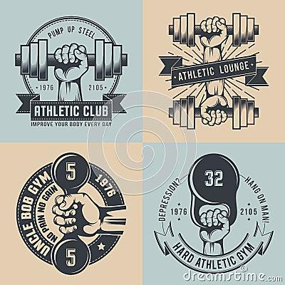 Free Gym Logo Stock Image - 78333021