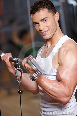 Gym mężczyzna