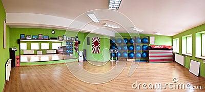 Gym panorama