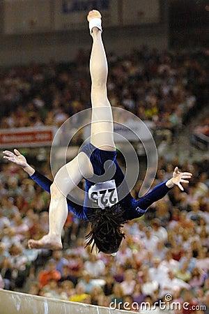 Gymnast beam 01