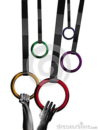 Gymnast rings