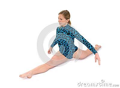 Gymnast split