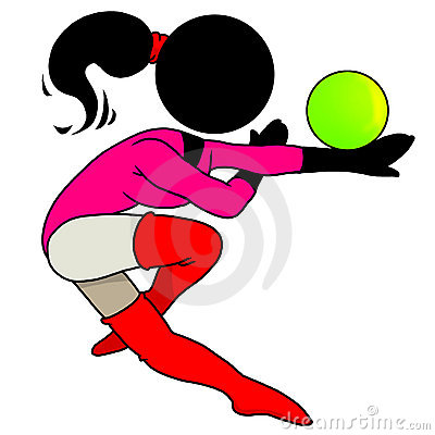 Gymnastic with ball